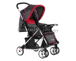 Sweet Heart Paris ST326T Baby Stroller Red