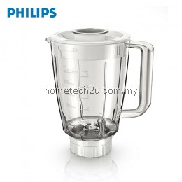 Philips Original 1.5 L plastic jar Replacement with 5-stars blade Compatible For HR 21xx series Blender