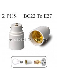 B22 to E27 Lamp Light Bulb Base Socket Converter Adaptor