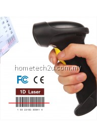 Quality 2.4G 10m Wireless Laser Barcode Reader Scanner Stroage Wireless/Wired