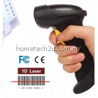 Quality 2.4G 10m Wireless Laser Barcode Reader Scanner Stroage Wireless/Wired