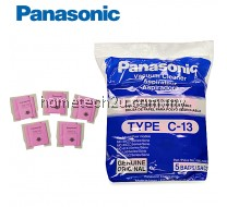 5 x PANASONIC TYPE C-13 Vacuum Cleaner Filter DUST BAG ORIGINAL parts