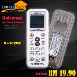 CHUNGHOP K-1028E 1000 in 1 universal air conditioner remote controller