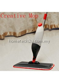 Multi-function Microfiber Spray Mop Water Spray Metal Rod Flat Mop Household Wood Floor Automatic Mop