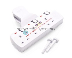 Eurosonic T-Way Adaptor Adaport with Neon Light and Surge Protector - 3 Gang