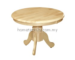 "UHome 24"" Round Lamp Table Coffee Table Tea Table Side Table"