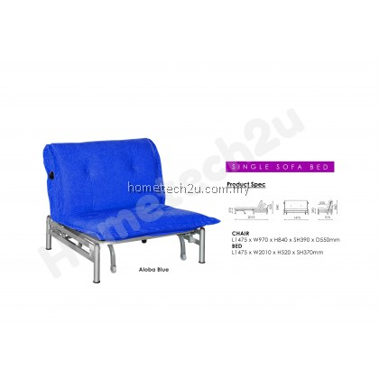 LAVelle Single Size Sofa Bed Reclining Function For Hospital Guest Visitor