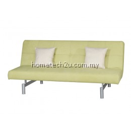 Victoria 3 Seaters Fabric Sofa Bed Convertible (Limeade)