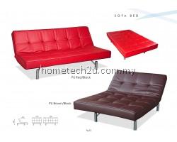 Paris Modern 3 Seat PU Sofa Bed - Adjustable backrest angle