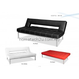 Fisa High Quality PU Sofa Bed with Recliner Mechanism Function