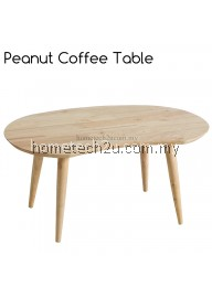 Peanut Bean Wooden Coffee Table