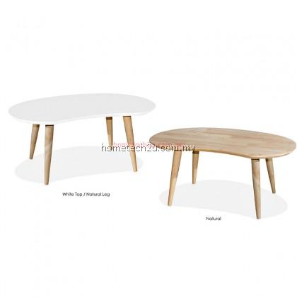 Peanut Bean Wooden Coffee Table