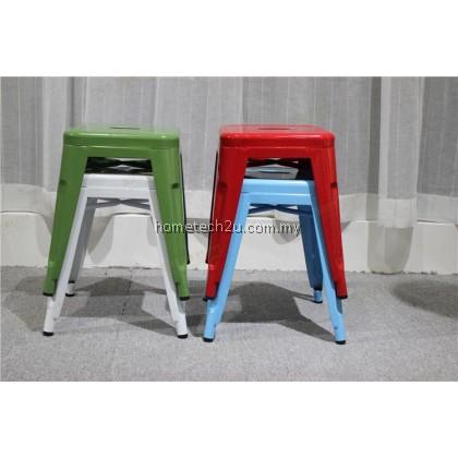 Modern Designer Hotel Restaurant Metallic Iron Chair Bar Chair Bar Stools Cafe Shop Decoration