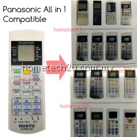 Huayu All In 1 Panasonic Air Conditioner Remote Control Replacement K-PN1122