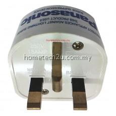 Panasonic Lightning Surge Protector Adaptor Plug Socket For TV Computer Home Appliances
