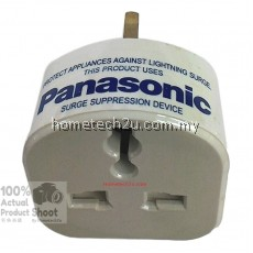 Panasonic Lightning Surge Protector Adaptor Plug Socket For TV Computer Home Appliances