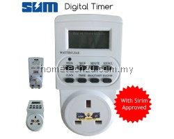 SUM Electronic Digital Timer Socket Plug LCD Display (SIRIM APPROVED)