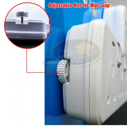 ME T Way Adaptor Adaport Multiple Wall Socket Power Outlet Extension