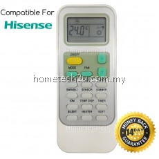 Hisense Air Cond Air Conditioner Remote Control Replacement