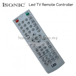 Isonic LED TV Remote Control Replacement
