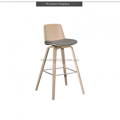 Torbin Classic High Back Support Barstool (2 pcs) FREE SHIPPING