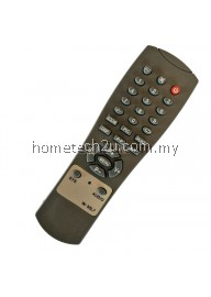 CRT TV Remote Control  Replacement For Homax Isonic Meck Quayle Vega