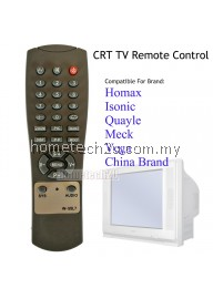 CRT TV Replacement Remote Control For Homax Isonic Meck Quayle Vega