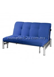 Zelmo Modern Queen Size Sofa Bed - Navy Blue