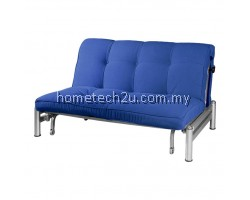 Zelmo Modern Queen Size Sofa Bed - Navy Blue