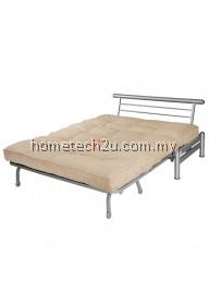Zelmo Modern Queen Size Sofa Bed - Khaki Peach