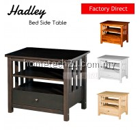 Hadley Wooden Bed Side Table End Table