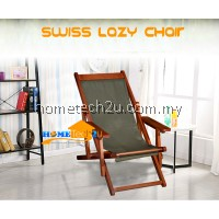 Swiss Wood Folding Beach Chair