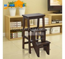 Stacy Wooden Step Ladder Chair