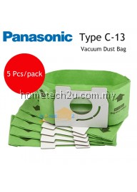 Panasonic Type C-13 Vacuum Dust Bag For MC-CG302 MC-CG321 MC-CA591 MC-3310 MC-CA593 MC-CA293