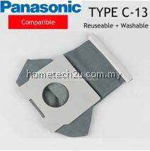Panasonic Cotton Reusable and Washable Type C-13 Vacuum Dust BagCompatible