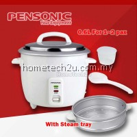 Pensonic Rice Cooker PRC-6G with Steam Tray (0.6L)