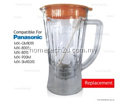 OEM Blender Jug Compatible For Panasonic Model MX-SM1031 MX-GM10111 MX-800S MX-801S