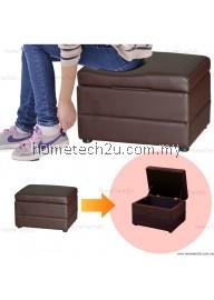 Lavelle Shoe Storage Stool Storage Ottoman Sofa (PU)