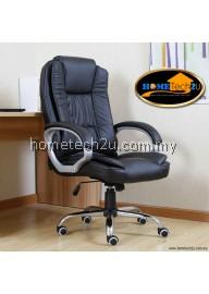 Ergonomic High-Back PU Office Executive Chair (Black)