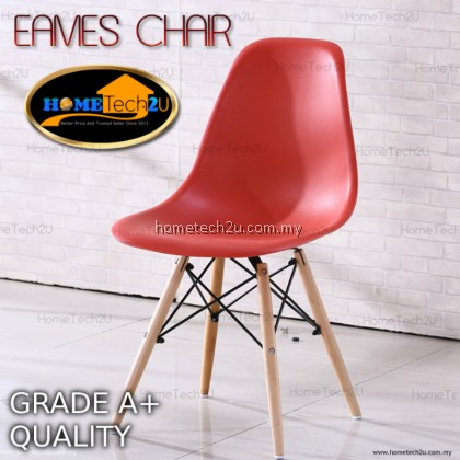 Classic Eames Designer Chair Use For Cafe Restaurant Dining Room Office Chair