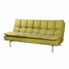 Santillo Queen Size Fabric Sofa Bed (Limeade)