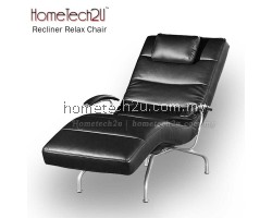 Viena PU Leather Recliner Relax Chair Chaise Lounge (Black)