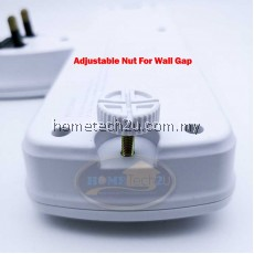 ME T Way Adaport with 2 USB Port 2.1A Wall Socket Power Outlet Extension