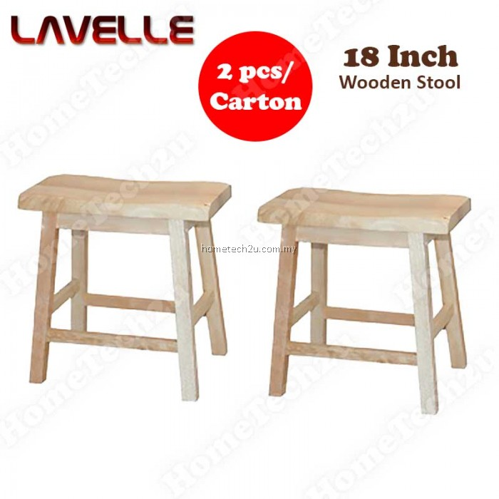 Lavelle inch wooden stool rectangle