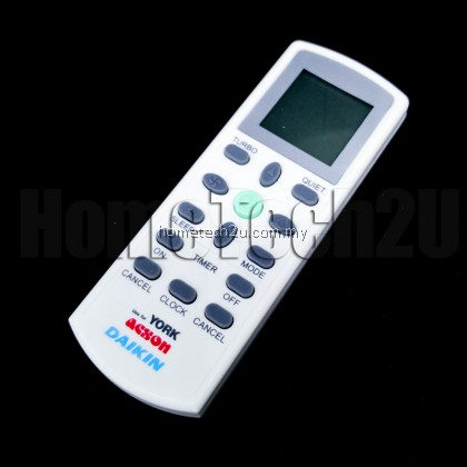 DAIKIN YORK ACSON Air Cond Remote Control Replacement [FREE BATTERY]