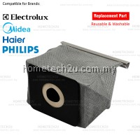 Midea Haier Philips LG Electrolux Washable Vacuum Cleaner Bag