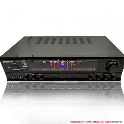 AMPAUDIO Professional Karaoke Amplifier With FM Radio