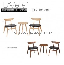 LAVelle Full Solid 1 + 2 Round Tea Set