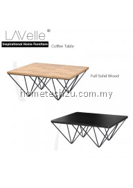 LAVelle Designer Full Solid Square Coffee Table