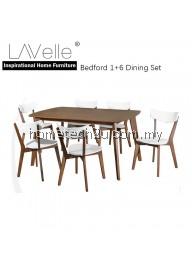 Bedford Wooden 7 Piece Dining Set